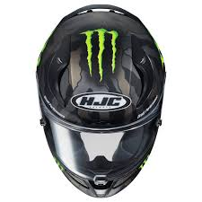 monster motocross helmets hjc 2017 rpha 11 pro monster energy helmet motorcycle street