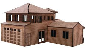architectural model kits architectural model house laser cutting