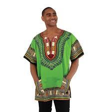 Kenya Flag Clothing Kenyan Made Traditional Print Dashiki Unisex Clothing African