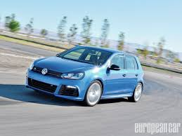 volkswagen golf r european car magazine