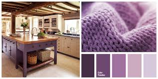 Interior Decoration Kitchen 23 Inspirational Purple Interior Designs You Must See