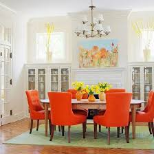Ideas For Modern Interior Decorating With Orange Color Shades - Orange interior design ideas