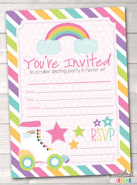 roller skating birthday party invitations theruntime com