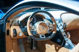 2017 bugatti chiron steering wheel 02 motor trend