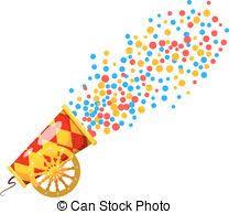 confetti cannon confetti cannon vector clipart eps images 11 confetti cannon clip