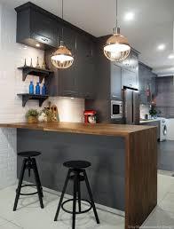 modern industrial kitchens meridian interior design and kitchen design in kuala lumpur
