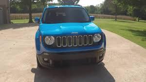 jeep renegade sierra blue hd video 2015 jeep renegade latitude sierra blue for sale info www