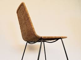 chaises en osier moderne chaise design avec chaise en osier ikea fauteuil bureau