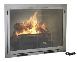 fireplace fan for wood burning fireplace fireplace glass doors with blower wehanghere