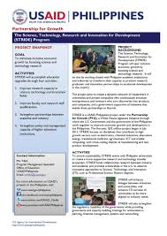 international network services philippines about us usaid stride