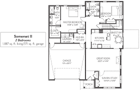 Garage Floorplans by Retirement Cottages In Mechanicsburg Pa Messiah Village