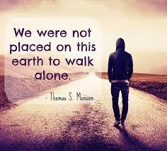 president thomas s monson u0027we never walk alone u0027 deseret news