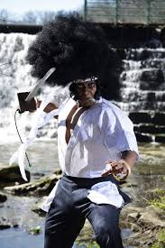 afro samurai the world needs more afro samurai cosplay kotaku australia