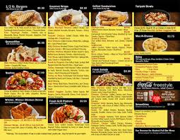 fresh grill u0026 bar restaurant menu design u2013 tracy technologies