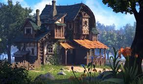 artstation oku k i kim u0027s house with stables 3d aspects done by