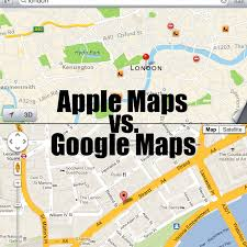apple maps 5 things you can do in apple maps that you can t in google maps