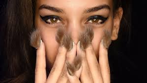 furry nails libertine u0027s runway show at new york fashion week