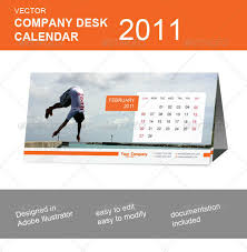 Flat Desk Calendar 25 Premium Calendar Resources For Designers And Web Developers