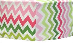 pink chevron crib sheet pink baby sheet fitted crib sheet