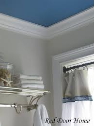 Bathroom Molding Ideas Colors Remodelaholic Add Character To Your Ceilings