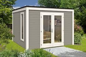 gartenhaus design flachdach design gartenhaus cubus 3232