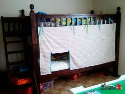 Bunk Bed With Tent At The Bottom Bunk Bed Tent Think I M Going To Do This With Batman Fabric And