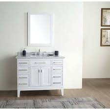 white inch single bathroom vanity set free shipping sink with top