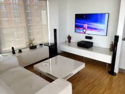 Home Theater Design Nyc by Living Room Tv Setup Living Room Design Tv Setupliving Room Tv