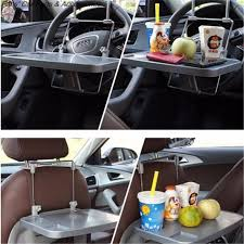 Computer Desk For Car Universal Car Organizer Laptop Stand Drink Holder Car Seat