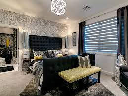 black white yellow bedroom contemporary with mustard yellow