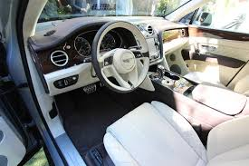 2017 bentley bentayga interior bentley bentayga got a special model automotobike