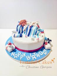 tasteful cakes by christina georgiou 18th female birthday cake