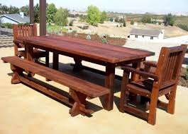 Wood Plans Outdoor Table by Woodworking Plans Patio Furniture Discover Projects Also Garden