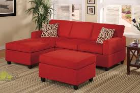Microfiber Sectional Sofa With Ottoman by Displaying Photos Of Red Microfiber Sectional Sofas View 14 Of 30