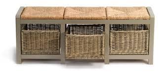 Wicker Storage Bench Shoe Storage Bench Seat U2013 Shoes Design