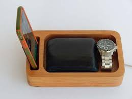 Personalized Desk Organizer Handmade Personalized Phone Station With Desk Organizer