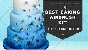 baking airbrush kit what is the best airbrush for cake decorating