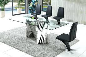 dining table acrylic dining table and chairs clear perspex room