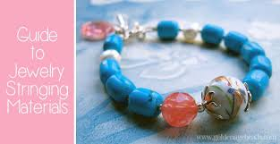 diy beaded charm bracelet images How to choose the right stringing material for your project jpg