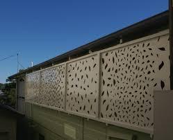 retro outdoor decorative panels and privacy screens door panel
