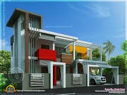 contemporary house unique design indian plans interior