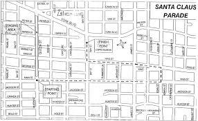 Hamilton Ontario Map Parade Route Welcome To The Home Of The Hamilton Santa Parade