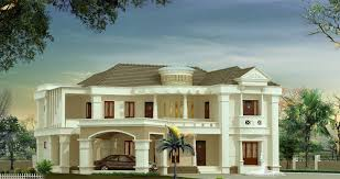 3500 sq ft house bungalow style kerala house elevation at 3500 sq ft