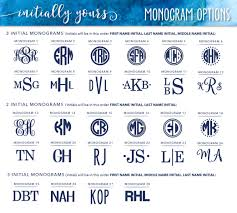 3 initial monogram fonts personalized 20oz yeti vinyl decal initially yours