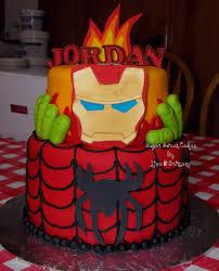 iron man u0026 spiderman cakecentral com