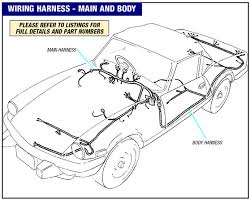 triumph spitfire wiring harness main and body mkiv uk and