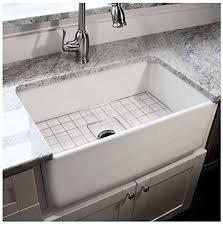 Fireclay Kitchen Sinks by Highpoint Collection 30 Inch Single Bowl Fireclay Ceramic