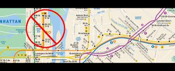Mta Map Draft Mta Plan Cuts Additional Queens Subway Service News