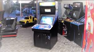 global vr pga tour team challenge arcade game trackball golf