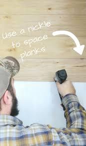 cheap and easy diy shiplap wall diy shiplap walls walls and